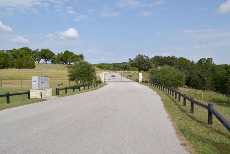 Oak Vista Ranch Gate
